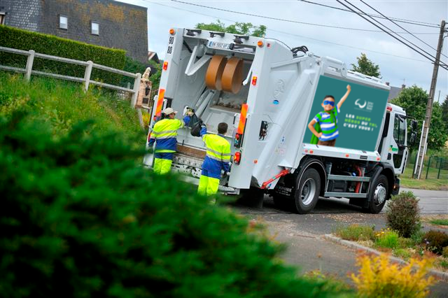 La collecte des déchets ménagers se poursuit