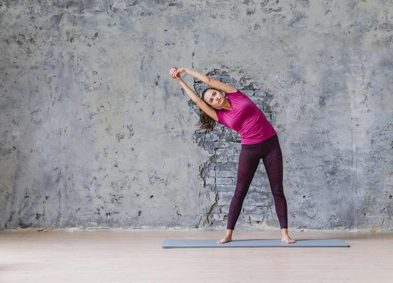 Renforcement musculaire et yoga à domicile